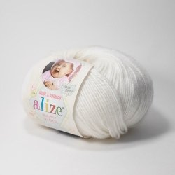 "Alize Baby Wool ""Белый"""